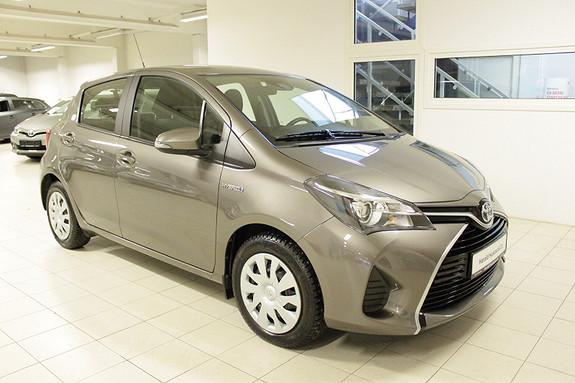 Toyota Yaris 1,5 Hybrid Active S e-CVT  2016, 58131 km, kr 184000,-