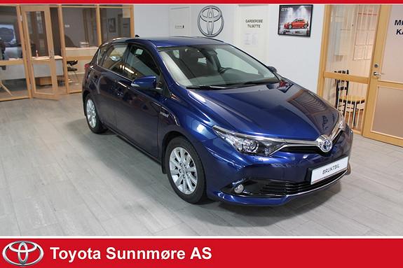 Toyota Auris 1,8 Hybrid E-CVT Active S **VELHOLDT**NYBILGARANTI**AUT  2016, 41000 km, kr 219000,-