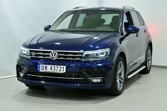 Volkswagen Tiguan HIGHLINE 190 TDI 4M DSG R LINE  2018, 22000 km, kr 559000,-
