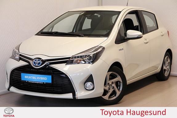 Toyota Yaris 1,5 Hybrid Active S e-CVT Navi, kamera, DAB+, Tectyl  2016, 47793 km, kr 175000,-