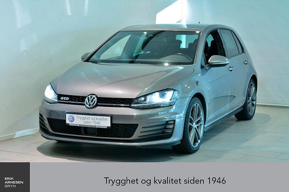 Volkswagen Golf GTD 2,0 TDI 184hk DSG  2015, 74500 km, kr 239000,-