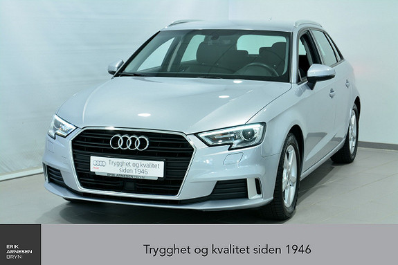 Audi A3 Sportback 1,0 TFSI 116hk Sport S tronic  2017, 46800 km, kr 249000,-