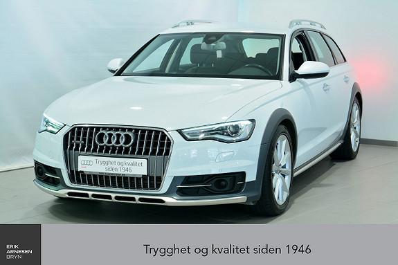 Audi A6 allroad quattro 3.0 TDI V6 211hk S tronic  2016, 39800 km, kr 549000,-