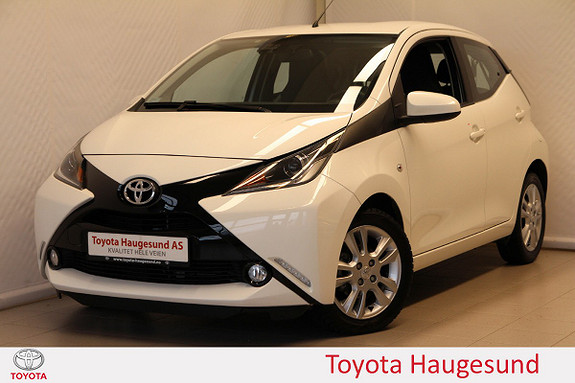 Toyota Aygo x-play 1,0 Kamera, autoklima, DAB+, Bluetooth, Tectyl  2017, 19457 km, kr 149000,-