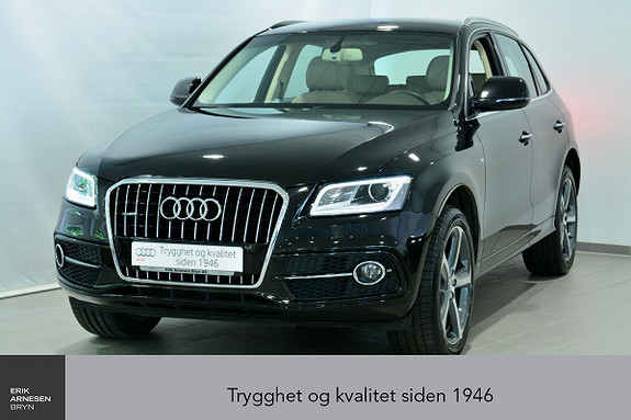 Audi Q5 2,0 TDI 163hk quattro S tronic  2016, 25400 km, kr 479000,-