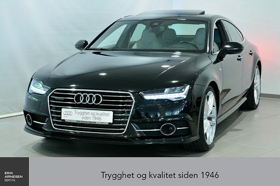 Audi A7 3,0 TDI V6 211hk Quattro S tronic  2016, 58200 km, kr 609000,-
