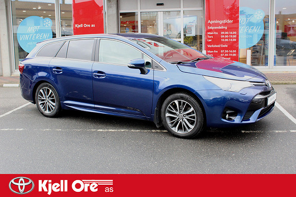 Toyota Avensis Touring Sports 1,8 Active M-drive 7S m/ Navi  2016, 51 411 km, kr 269 000,-
