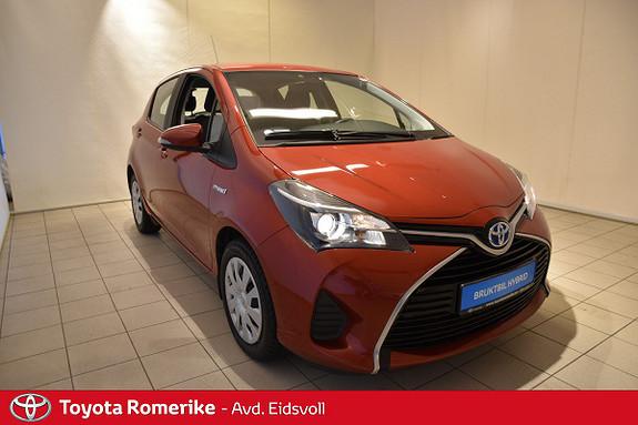 Toyota Yaris 1,5 VVT-i Hybrid  Ryggekamera, Dab+, Aux, Isofix, Aut,  2015, 38275 km, kr 159000,-