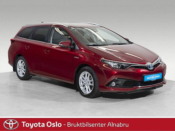 Toyota Auris Touring Sports 1,8 Hybrid Active Sport DAB+, Automat,  2017, 33916 km, kr 267900,-