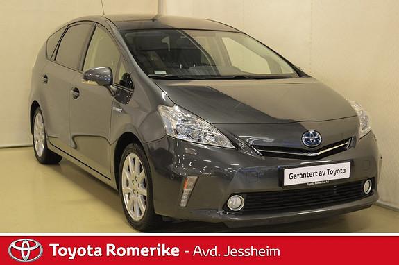 Toyota Prius+ Seven 1,8 VVT-i Hybrid Premium Panoramatak, Skinn  2013, 61500 km, kr 259000,-