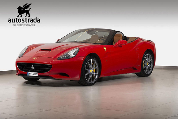 Ferrari California 460 HK  2010, 27000 km, kr 1290000,-