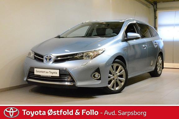 Toyota Auris Touring Sports 1,8 Hybrid Executive , XENON/DELSKINN,  2013, 78200 km, kr 178000,-
