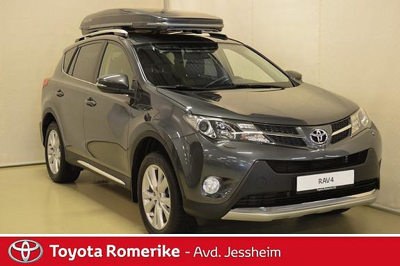 Toyota RAV4 2,2 D-CAT 4WD Exective aut Skinn, Skiboks packline  2013, 88700 km, kr 319000,-