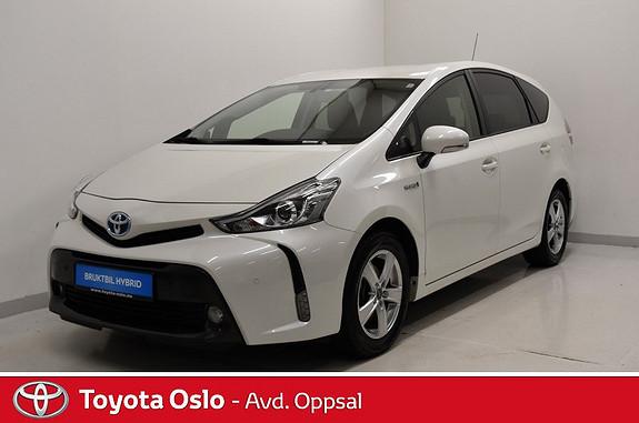 Toyota Prius+ Seven 1,8 VVT-i Hybrid Executive , Skinnseter, 7 seter,  2015, 27935 km, kr 284900,-