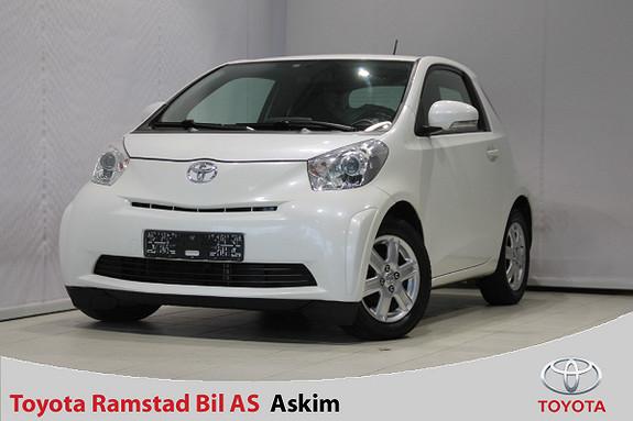 Toyota IQ 1,0VVT-i  2010, 150000 km, kr 49000,-