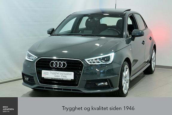 Audi A1 Sportback 1,0 TFSI 95hk Admired  2016, 47990 km, kr 174000,-