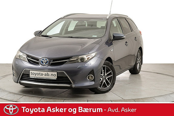 Toyota Auris Touring Sports 1,8 Hybrid Active+  2014, 73 920 km, kr 189 000,-