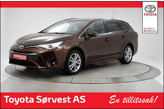 Toyota Avensis Touring Sports 1,8 Active M-drive 7S  2016, 45 632 km, kr 279 000,-