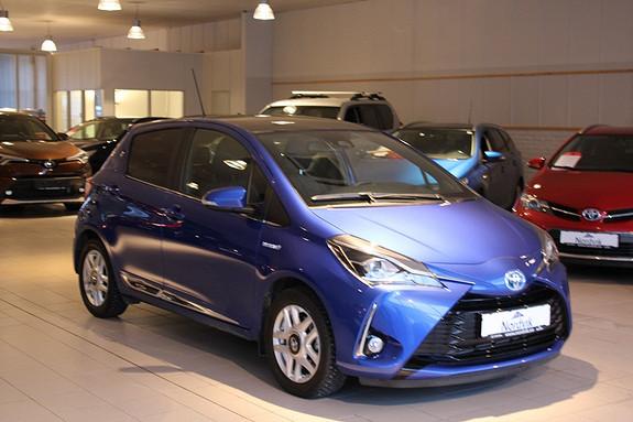Toyota Yaris 1,5 Hybrid Style PANORAMATAK DELSKINN  2017, 21269 km, kr 229000,-