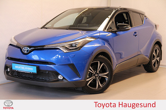 Toyota C-HR 1,8 WT-i Hybrid Dynamic Tech Skinn, JBL, DAB+, Tectyl  2017, 5631 km, kr 329000,-