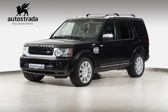 Land Rover Discovery 3.0 4 SDV6 256hk 7 seter Luxury Pack