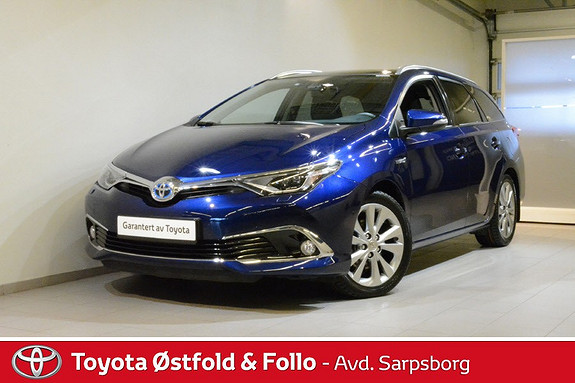 Toyota Auris Touring Sports 1,8 Hybrid Executive ,SKINN/PANORAMA/JBL  2017, 40200 km, kr 272000,-