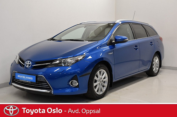 Toyota Auris Touring Sports 1,8 Hybrid Executive , Delskinn,  2014, 48513 km, kr 218900,-
