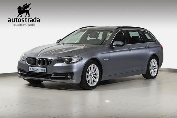 BMW 5-serie 520dA X-DRIVE 163 HK  2016, 80000 km, kr 429000,-