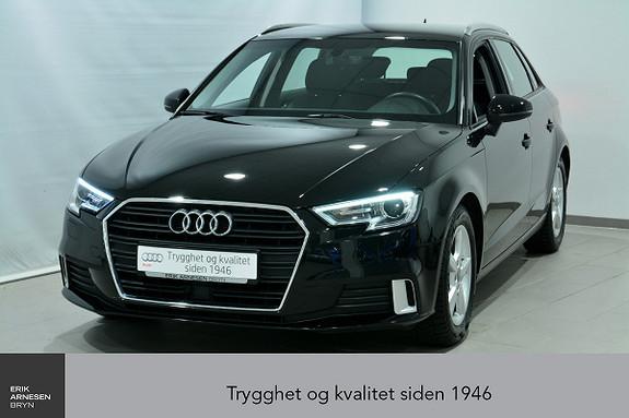 Audi A3 Sportback 1,4 TFSI 150hk Sport S tronic  2017, 44800 km, kr 269000,-