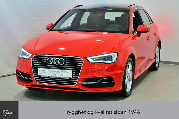 Audi A3 Sportback 1,4 TFSI Ambition Plug-in hybrid S-line  2016, 53700 km, kr 245000,-