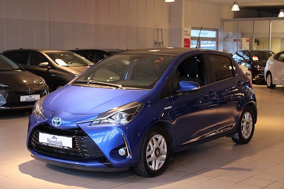 Toyota Yaris 1,5 Hybrid Style  2017, 21285 km, kr 229000,-