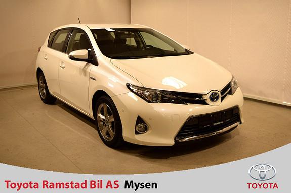 Toyota Auris 1,8 Hybrid E-CVT Active Go navi  2013, 65700 km, kr 165000,-