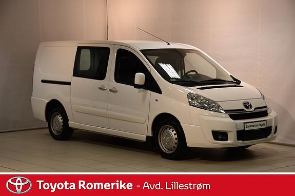 Toyota Proace 2,0 128hk L2H1 (m/bakluke)  2015, 33778 km, kr 165000,-