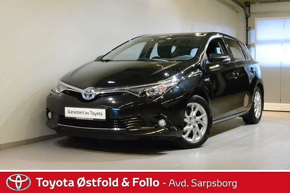 Toyota Auris 1,8 Hybrid E-CVT Active S , SAFETY SENSE/DAB+,  2016, 38200 km, kr 228000,-