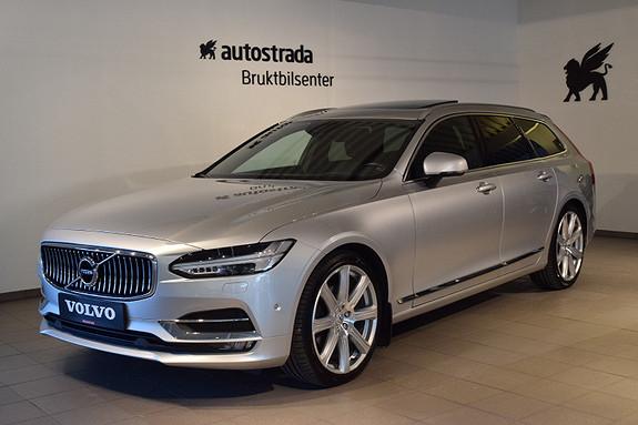 Volvo V90 D4 190hk Inscription aut  2017, 52741 km, kr 519000,-