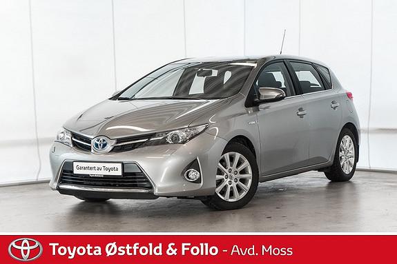 Toyota Auris 1,8 Hybrid E-CVT Active /KOMPLETT SERVICEHISTORIKK  2013, 76000 km, kr 165000,-