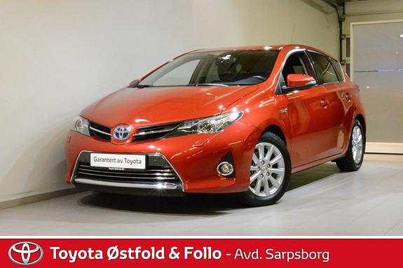 Toyota Auris 1,8 Hybrid E-CVT Executive , ÈN EIER/DELSKINN/KEY-LESS,  2014, 36100 km, kr 195000,-