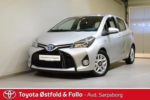 Toyota Yaris 1,5 Hybrid Active S e-CVT , SAFETY SYSTEM/CRUISECONTR.,  2016, 24400 km, kr 182000,-