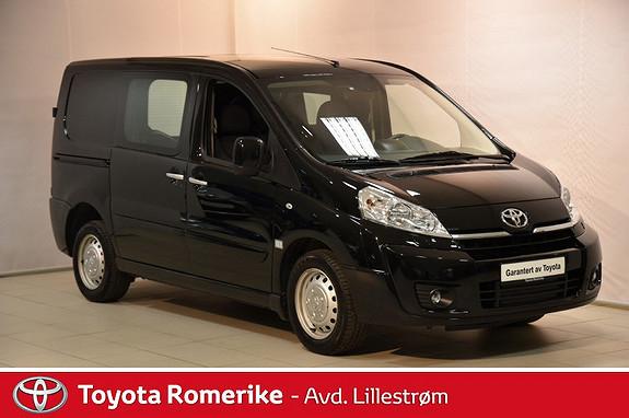 Toyota Proace 2,0 128hk L2H1  2015, 59241 km, kr 155000,-