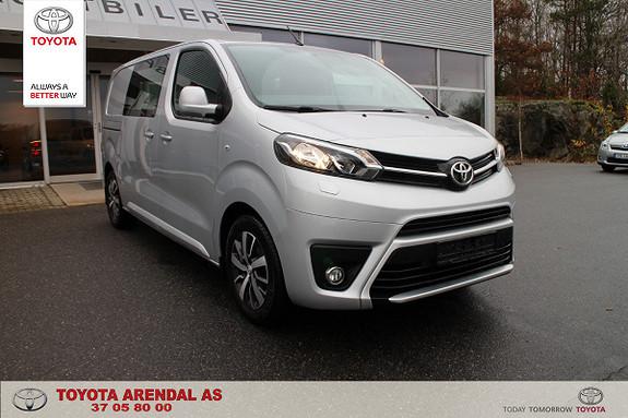 Toyota Proace 1,6 D 115 Comfort Medium L1H1  2016, 24500 km, kr 239000,-