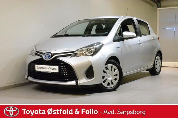 Toyota Yaris 1,5 Hybrid Active e-CVT , SAFETY SENSE,  2015, 43700 km, kr 158000,-
