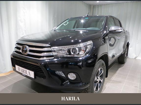 Toyota HiLux D-4D 150hk D-Cab 4WD SR+ aut  2017, 19283 km, kr 469000,-