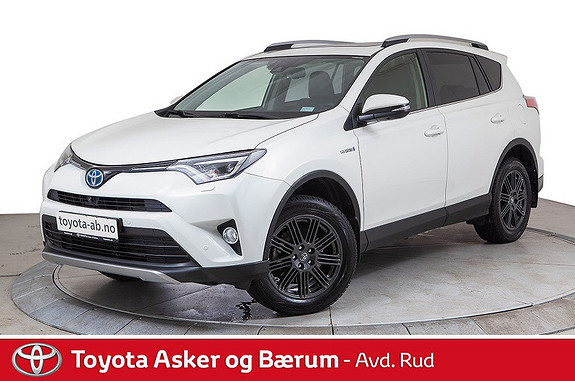 Toyota RAV4 Hybrid AWD Executive  2017, 27 500 km, kr 449 000,-
