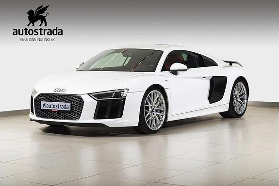 Audi R8 V10 Plus 610 HK  2016, 41000 km, kr 1729000,-
