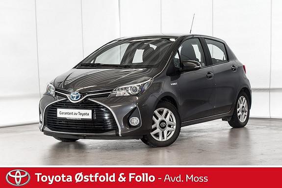 Toyota Yaris 1,5 Hybrid Active S e-CVT /LAV KM/SERVICEHISTORIKK  2016, 33200 km, kr 178000,-