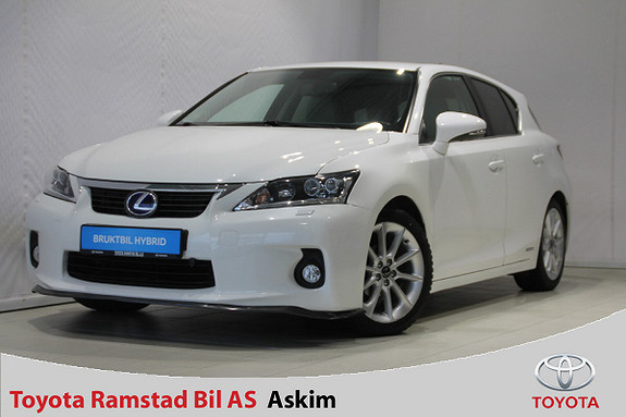 Lexus CT200h Comfort Skinn, Navi, DAB+  2011, 100000 km, kr 159000,-
