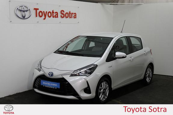 Toyota Yaris 1,5 Hybrid Active Go e-CVT aut  2018, 14200 km, kr 225000,-