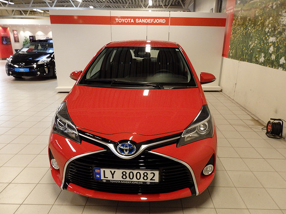 Toyota Yaris 1.5 Active S Hybrid  2016, 4400 km, kr 209000,-