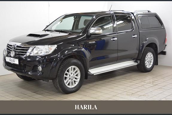 Toyota HiLux D-4D 143hk D-Cab 4WD SR5  2012, 127455 km, kr 349000,-