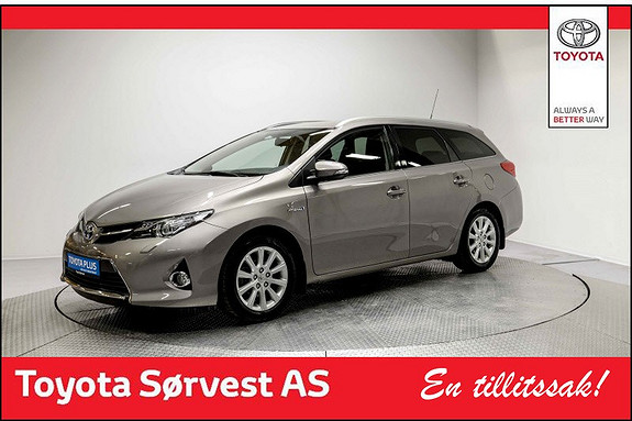 Toyota Auris Touring Sports 1,8 Hybrid Active+  2015, 43 935 km, kr 219 000,-